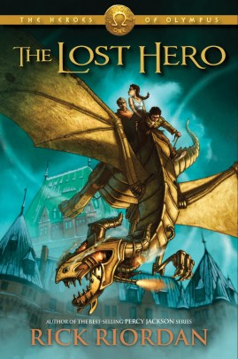Myth & Mystery: The Lost Hero cover unveiled!